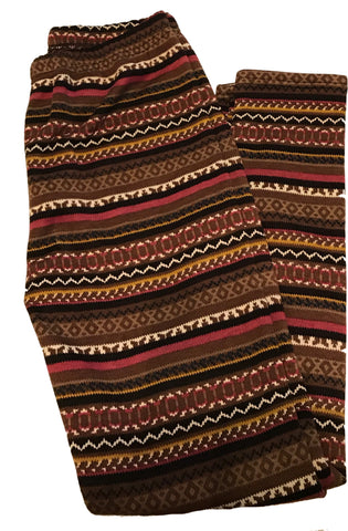 """Brown Simmer"" Leggings"