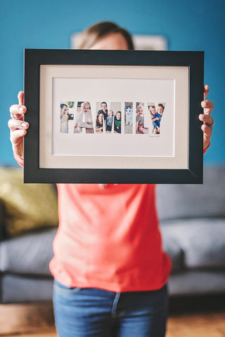 Hello Ruth Personalised Family Photograph Print
