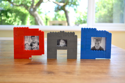 Lego letters diy lego picture frames with photos craft