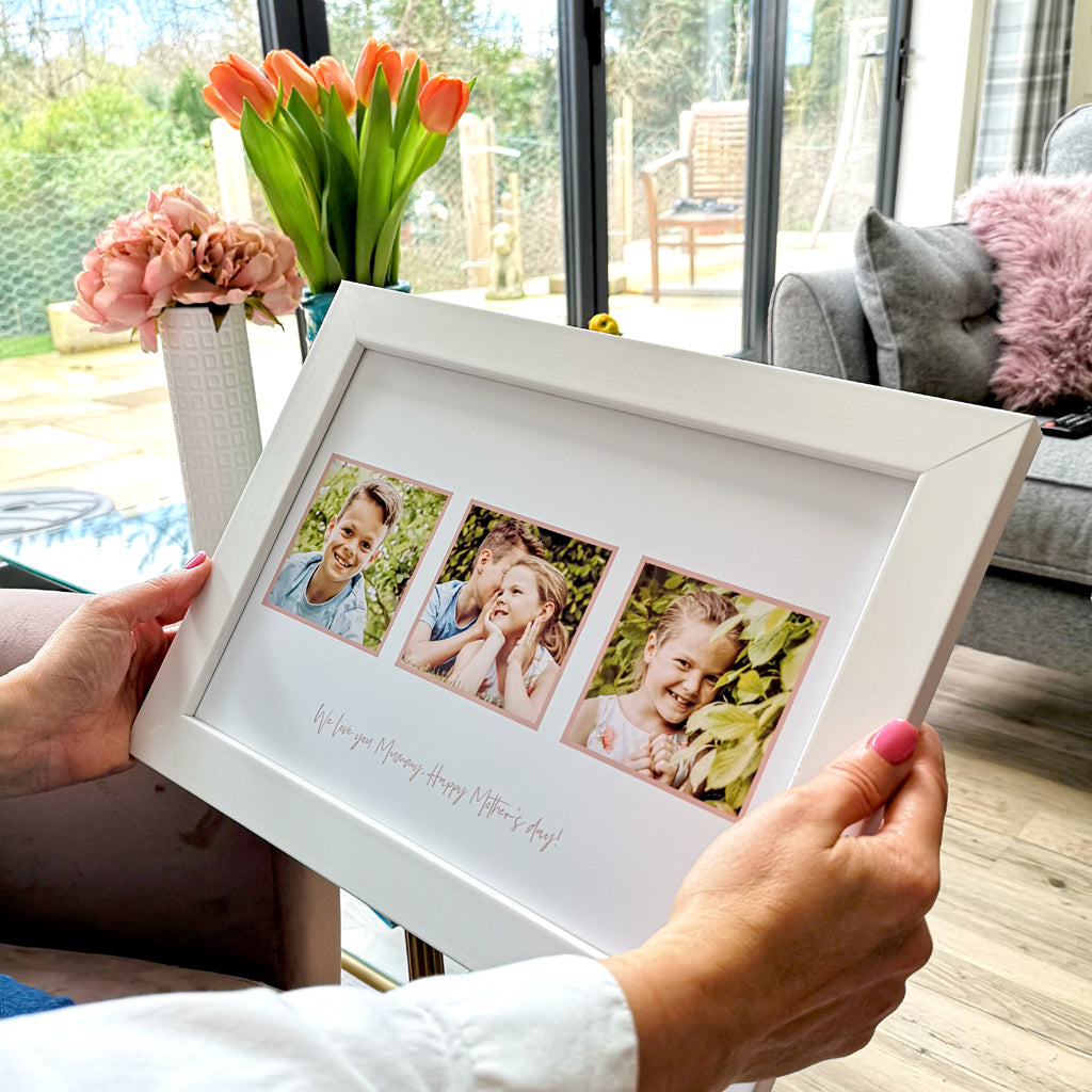 Personalised Colour Photo Memories for her