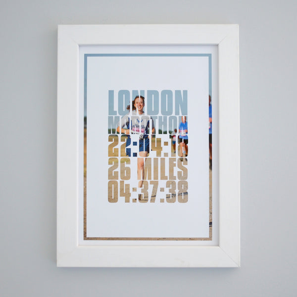 London Marathon Photo Print