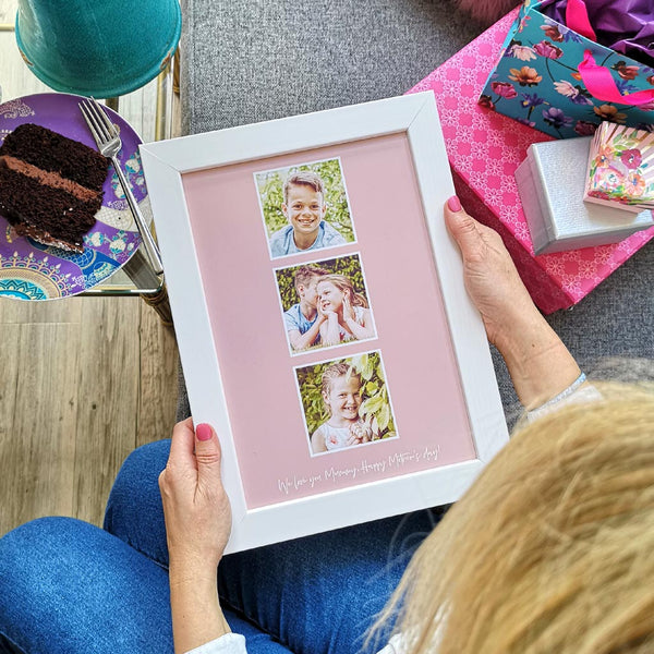 Personalised framed photo print for Mummy