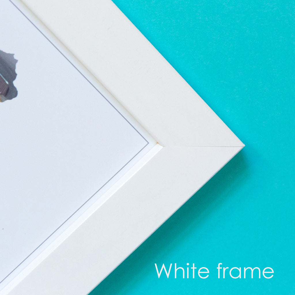 Wooden Frame For A4 Photograph Prints