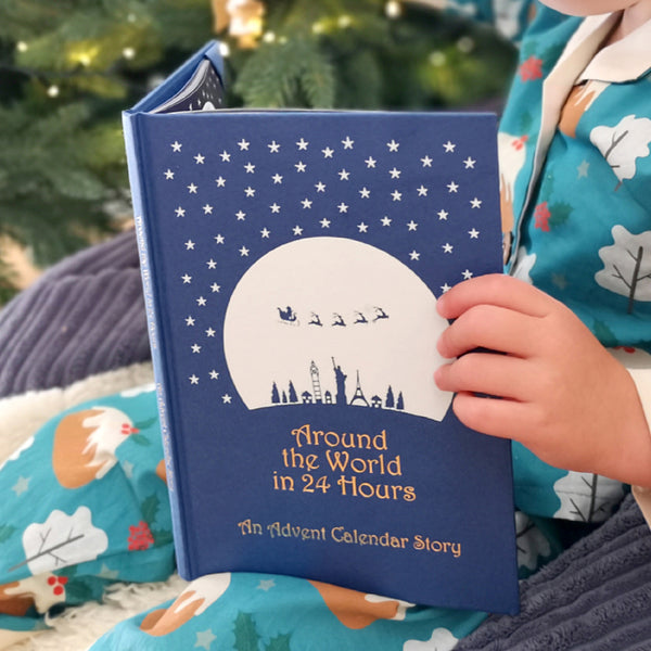 Personalised Advent Christmas Book Family Heirloom