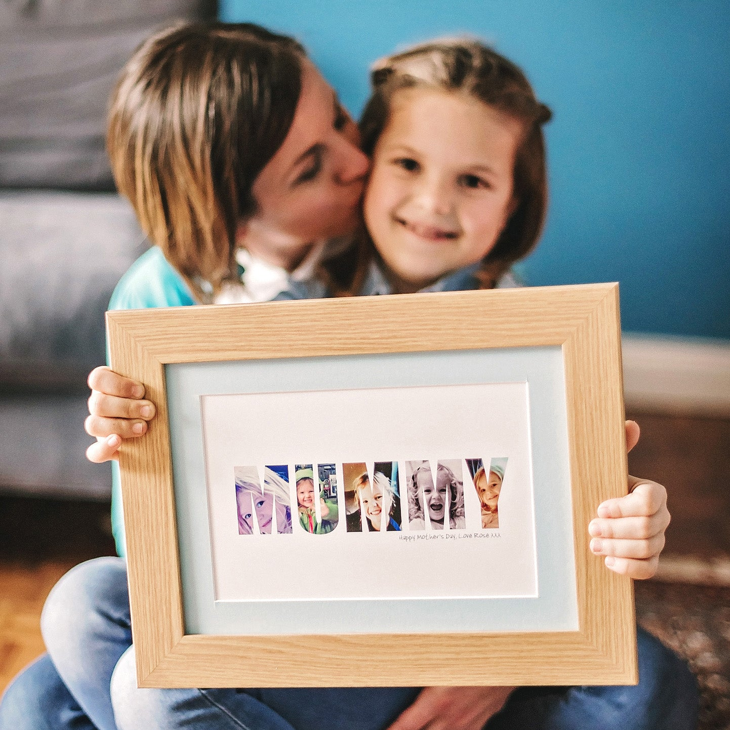 Personalised 'Mummy' Photo Gift Print