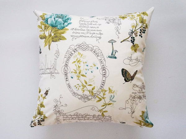 Garden Butterfly Pillow Cover