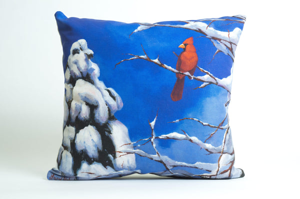 @Local Trade Christmas Pillow Cover Hope and Blessing by Arizona Artist Lucy Dickens