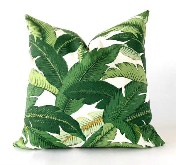 Banana Leaf Outdoor Pillow Cover