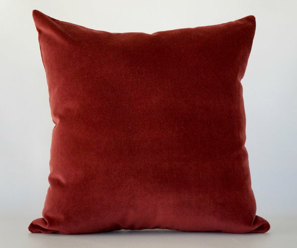 Red Velvet Pillow Cover