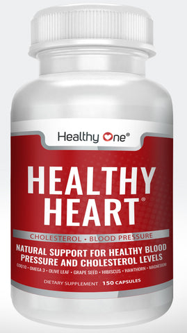 Healthy Heart - Blood Pressure, Cholesterol and Cardiovascular Supplement