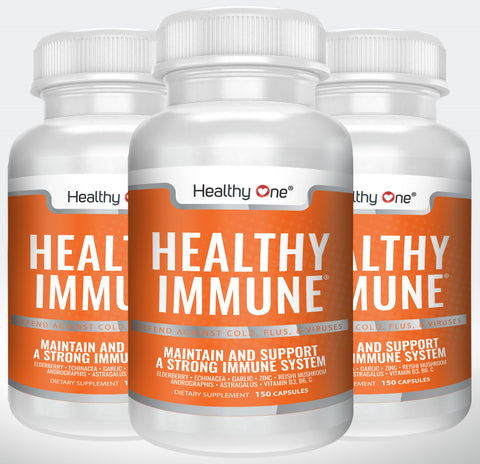 Healthy Immune - Maintain and Support a Strong Immune System