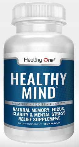 Healthy Mind - Memory - Focus - Clarity - Brain Nootropic Supplement