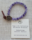 OM Button Bracelet - Intuition