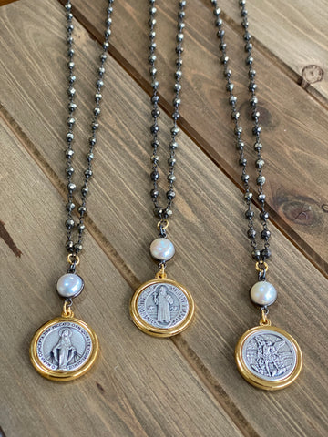 Saint Medal Necklaces