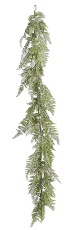 60 Inch Real Touch Mixed Fern Garland