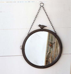 Hanging Bird Mirror, Large
