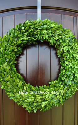 30 inch Preserved Boxwood Wreath