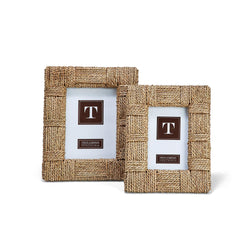 "Natural View Sea Grass Photo Frames-4"" x 6"" and 5"" x 7"""