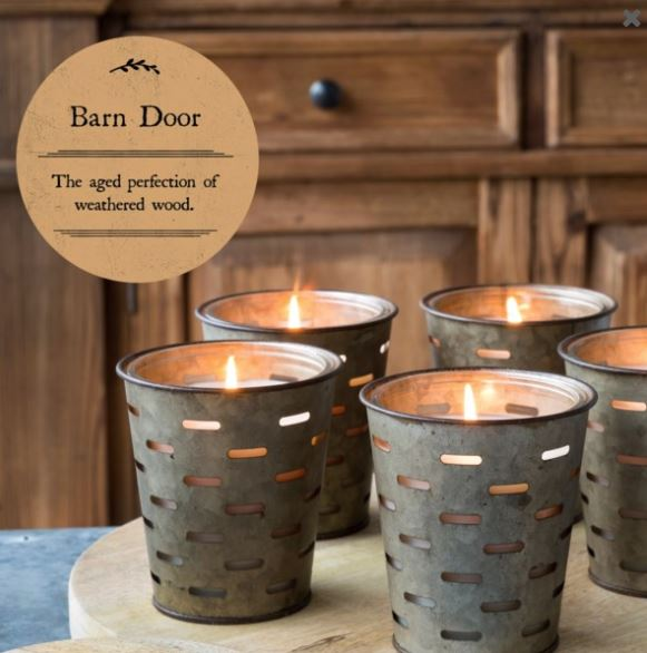 Olive Bucket Candle-Barn Door Fragrance