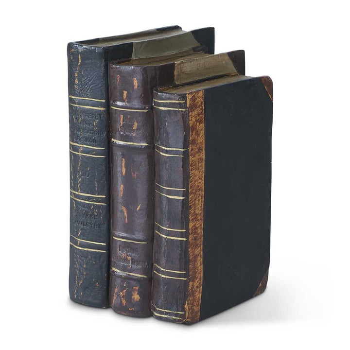 8 Inch Resin Graduated Sizes Book Stack