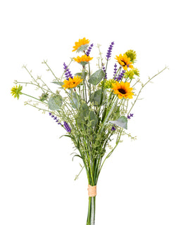 "19"" Sunflower and Lavender Bundle with Eucalyptus"