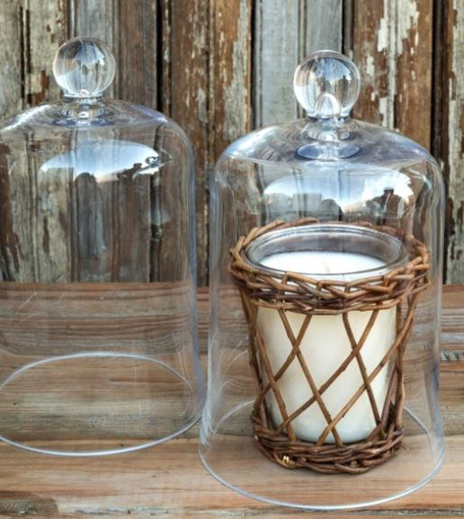 Candle Cover Bell Jar 6