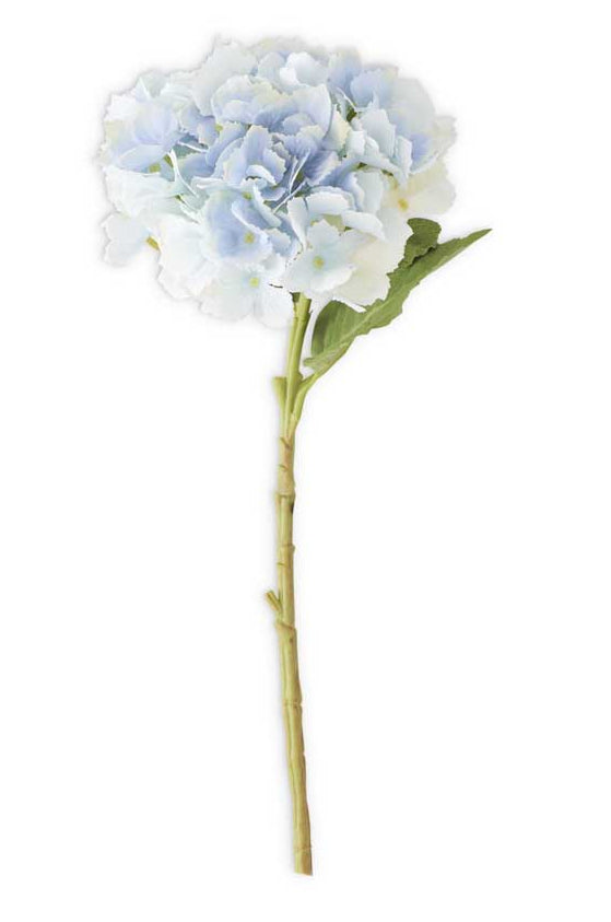 20 Inch Blue Real Touch Hydrangea Spray