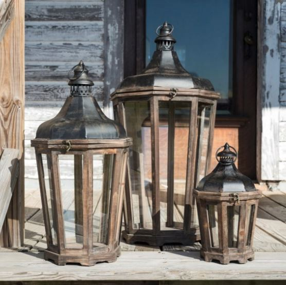 Hillcrest Lantern in Graduated Sizes