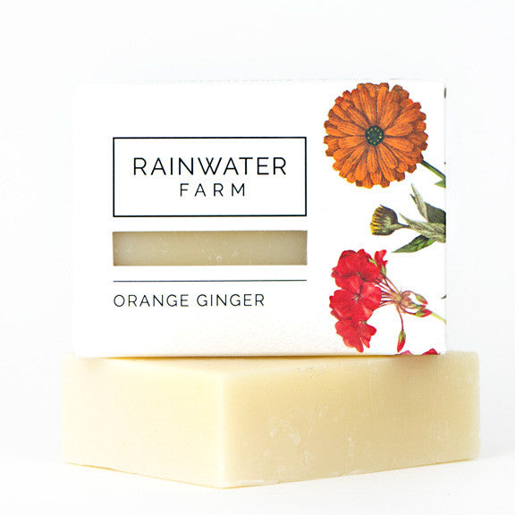 Orange Ginger Soap