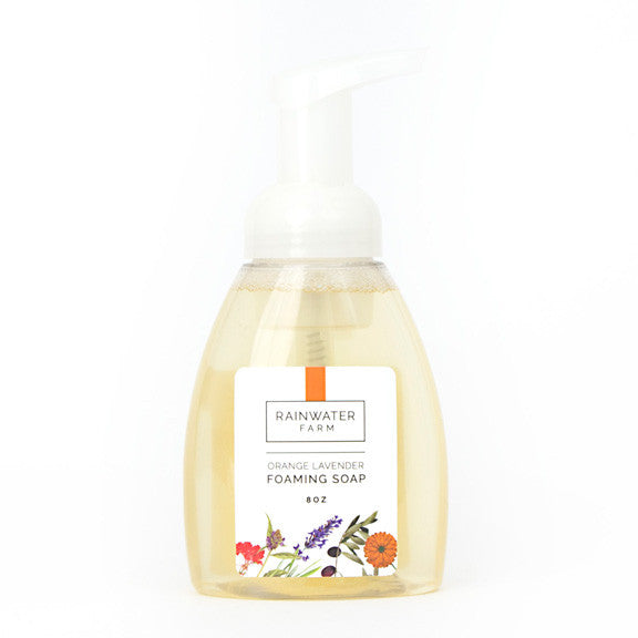 Orange Lavender Foaming Hand Soap