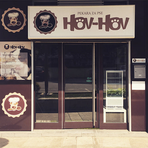 Hov-Hov dog bakery Belgrade
