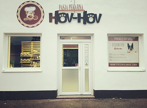 Dog bakery Hov-Hov - production location