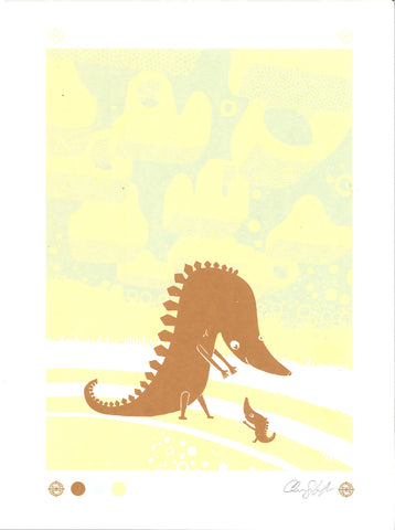 DINOSAUR Screen Print