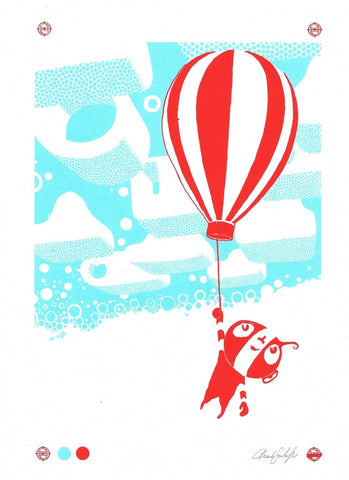 PEBO BALLOON Screen Print