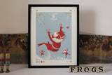 KNOT OF FROGS Screen Print