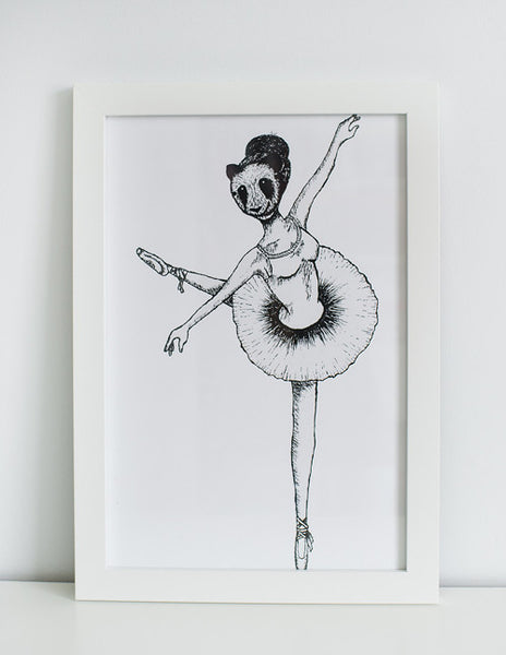 Joyful Arabesque Print
