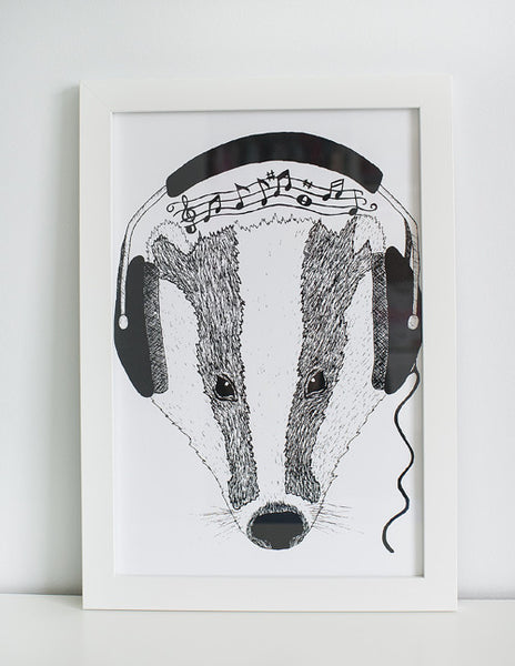 Feel The Beats Print