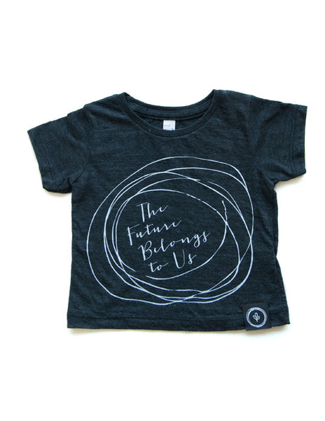 The Future Belongs to us Tee || Infant || Black