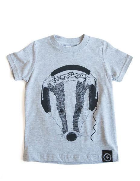 Feel the Beats Tee || Gray