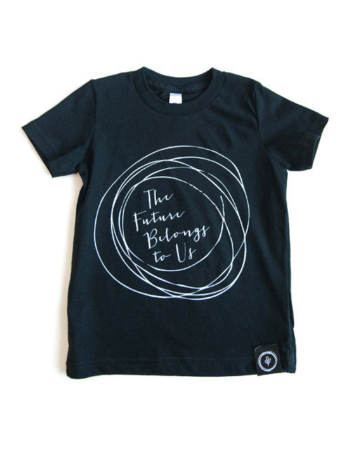 The Future Belongs To Us Tee || Black