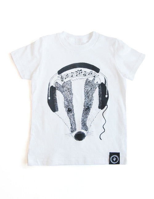 Feel the Beats Tee || White