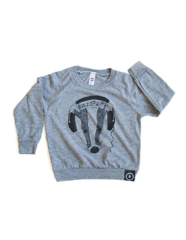 Feel the Beats Raglan Pullover