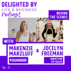 Entrepreneurship, Brand Refresh, and How to Stay Motivated and Inspired as a Virtual Team: feat. the DELIGHTED BY Founder & CEO, Makenzie Marzluff and Sales Director, Jocelyn Freeman