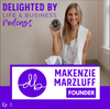 Live Out Your Dreams Through Heart-Centered Business: feat. Founder of Delighted By Hummus, Makenzie Marzluff