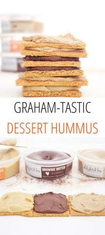 Graham-tastic Dessert Hummus | Delighted By Hummus