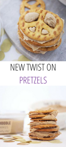 New Twist on Pretzels | Delighted By Hummus