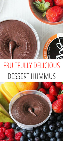 Fruitfully Delicious Dessert Hummus | Delighted By Hummus