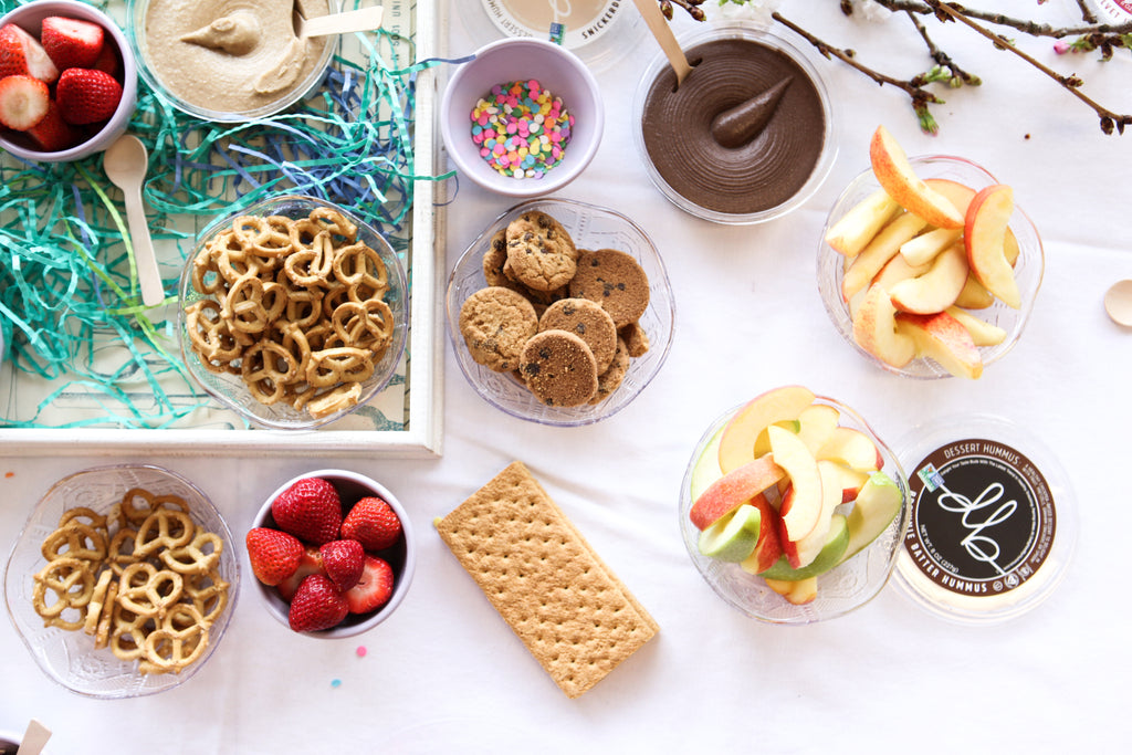 How to Build a Pure and Simple Kid's Dessert Bar delightedbydesserts.com #dessert #glutenfree #kidsparty