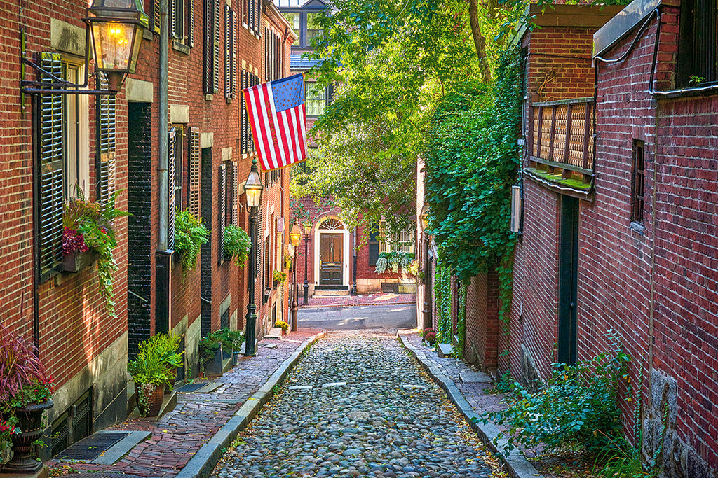 Acorn st. Beacon Hill Boston