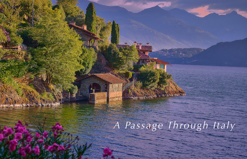 Photograph of Lake Como Italy